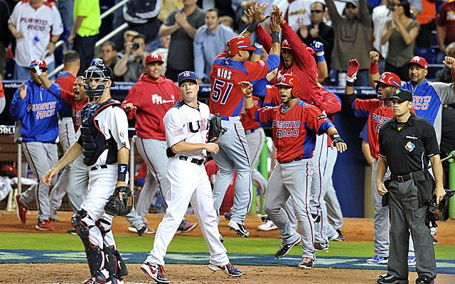 Puerto Rico United States World Baseball Classic