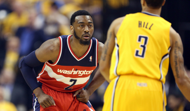 John Wall has been driving the Wizards' attack. (USATSI)