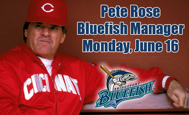 Pete Rose is back in the managing game.