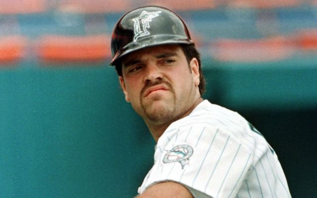 Yep, Mike Piazza was once a Marlin.