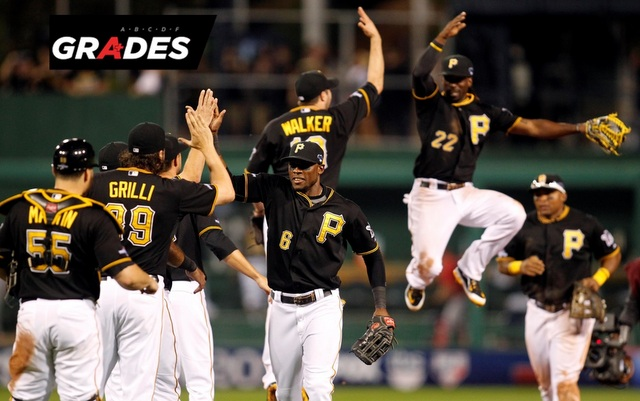 Andrew McCutchen and the high-flyin' Pirates are on the verge of the NLDS.