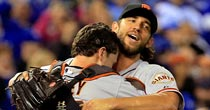 Buster Posey, Madison Bumgarner (Getty Images)