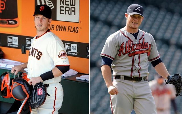 Buster Posey (left) and Craig Kimbrel are two of the best players from the 2008 draft. (USATSI)