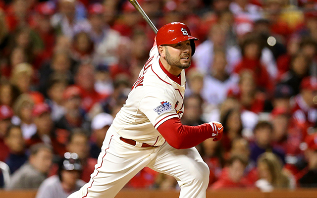 Matt Holliday had a big Game 3, even if he wasn't involved in the dramatic finish.