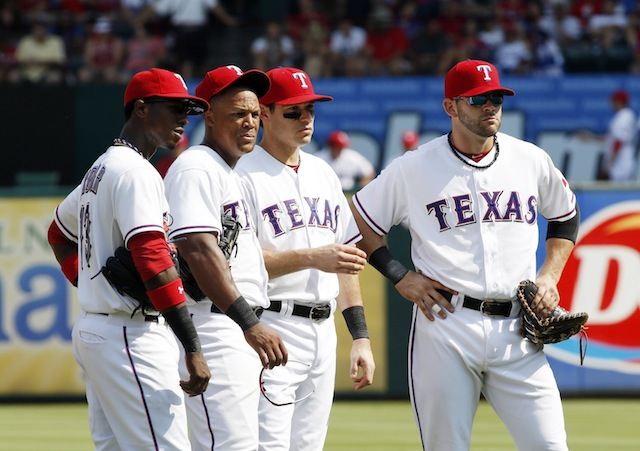 The Rangers are lurking and ready to increase their lead in the AL West. Says so right here. (USATSI)