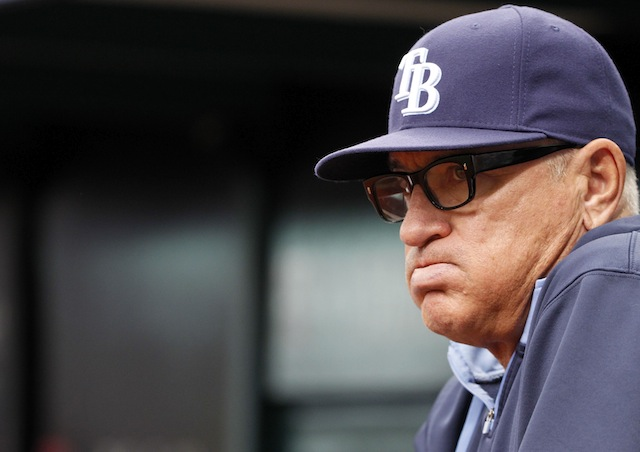It's just May, but it's already been a long season for Joe Maddon and the Rays. (USATSI)