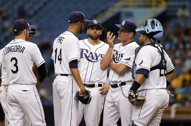The Rays are … well, at least they're trying something different. (USATSI)