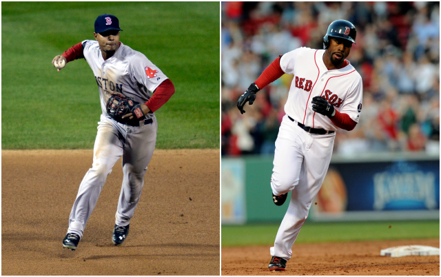Xander Bogaerts (left) and Jackie Bradley Jr. figure to play big roles for the Red Sox in 2014. (USATSI)