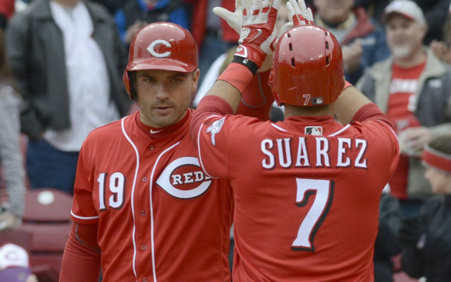One of these two has been leading the Reds' offense -- and it's not the one you think