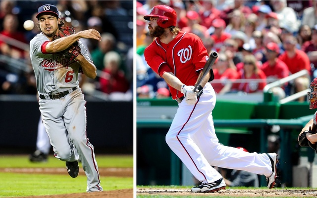 Anthony Rendon (left) and Jayson Werth rejoined the Nationals on Tuesday. (USATSI)