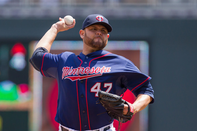 An elbow injury has forced Ricky Nolasco to the DL. (USATSI)