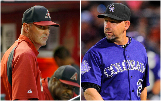 Are there now simmering hostilities between the Diamondbacks and Rockies? (USATSI)