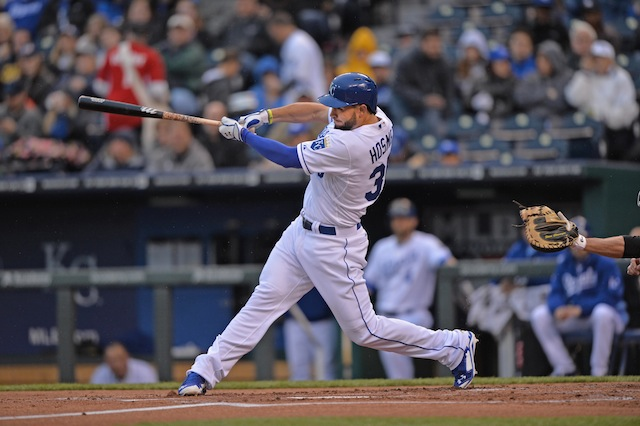 Eric Hosmer and the Royals have been hitting the ball, but they haven't been hitting it hard. (USATSI)