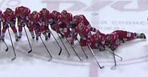 Russian dominoes (KHL)