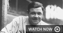 Babe Ruth (screen shot)