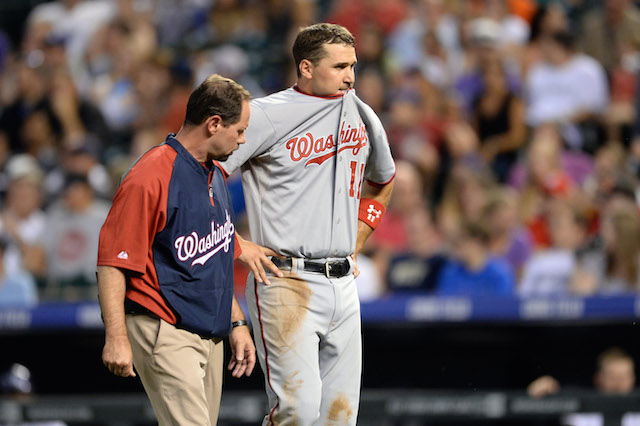 Yes, Ryan Zimmerman has another injury concern. (USATSI)