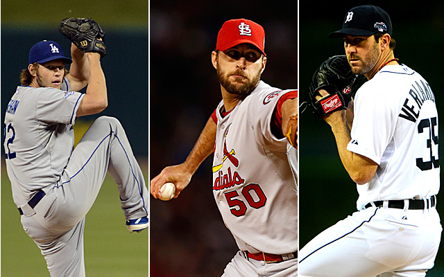 How about a little Kershaw, Wainwright and Verlander as part of our perfect pitcher?