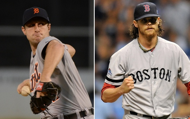 Max Scherzer (left) vs. Clay Buchholz might be the best pitching matchup of the postseason.