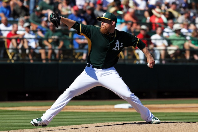 The A's have locked up Sean Doolittle through at least 2018. (USATSI)