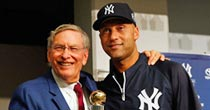 Selig, Jeter (Getty)