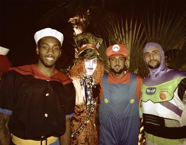 PHOTOS NBA players posting their Halloween costumes