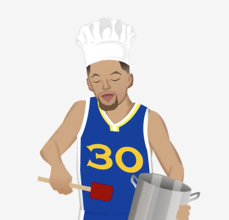 Riley Curry is now an emoji for your phone along with Steph