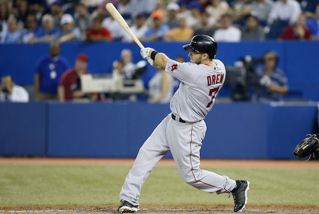 Stephen Drew is taking his bat from Boston to the Bronx. (USATSI)