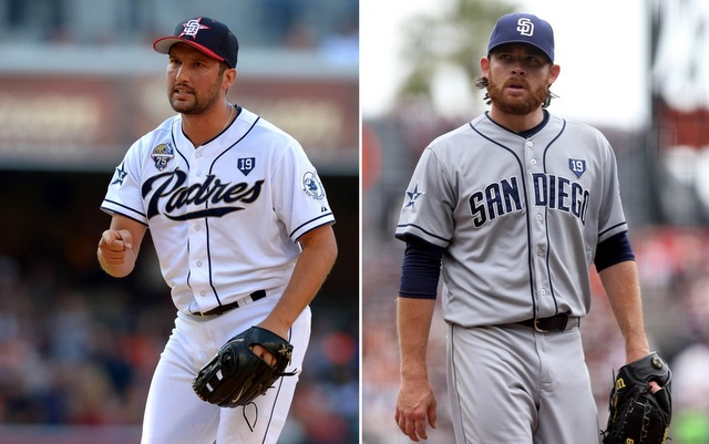 The Angels have their eyes on both Huston Street and Ian Kennedy.