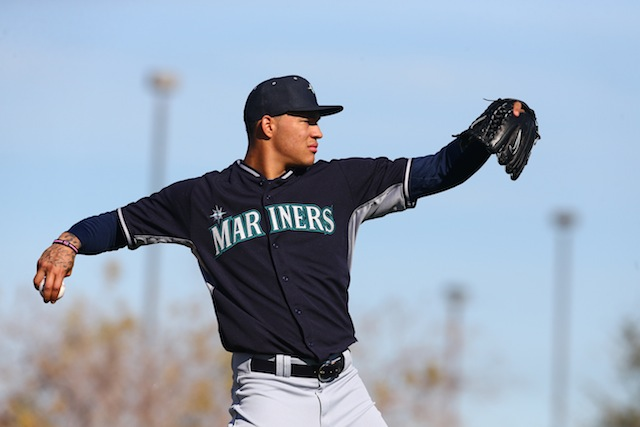 Taijuan Walker won't be doing this for a while. (USATSI)