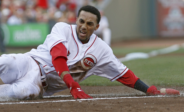 Since we're talking base-running, chances are Billy Hamilton will be involved. (USATSI)