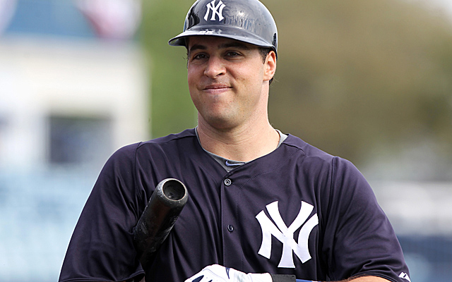 Teixeira strained his right forearm while warming up for an exhibition game. (Getty Images)