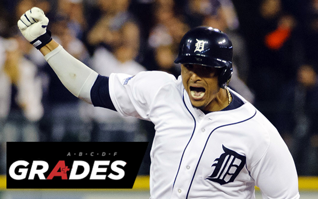 Victor Martinez and the Tigers offense came through in a big way Tuesday.