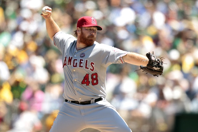 It's been a long season for Tommy Hanson and the Angels. (USATSI)