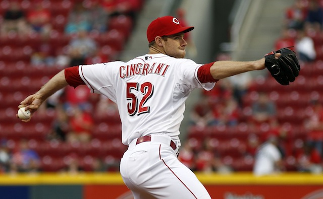 Tony Cingrani won't be taking the mound for the Reds for the next two weeks. (USATSI)