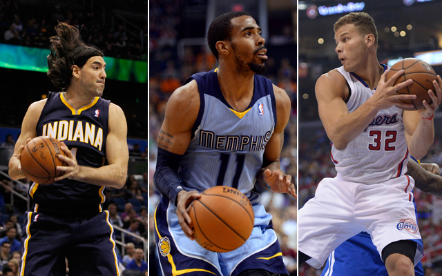 Scola, Conley, and Griffin are showing us the tiers of impact. (USATSI)