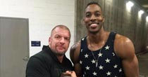 Triple H; Dwight Howard (Instagram)