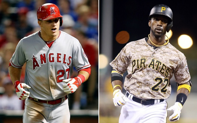 Mike Trout and Andrew McCutchen are the two best center fielders in baseball.