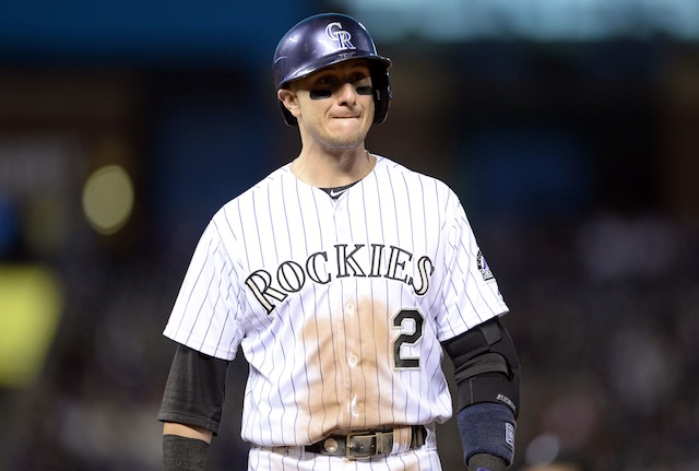 Troy Tulowitzki has a message in song for those who would accuse him of stealing signs. (USATSI)