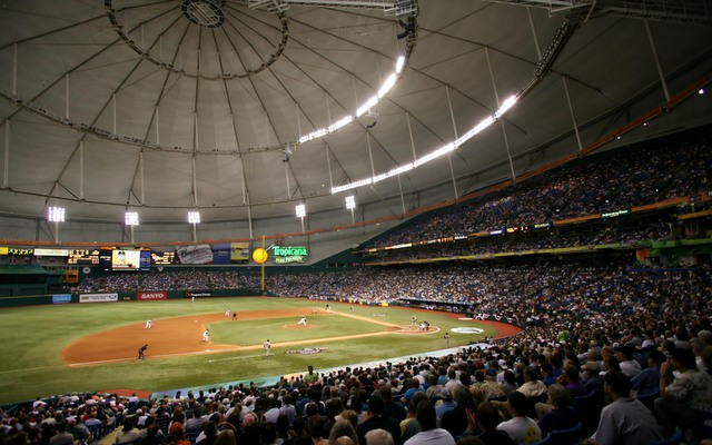 The Rays have been stuck in Tropicana Field since 1998.