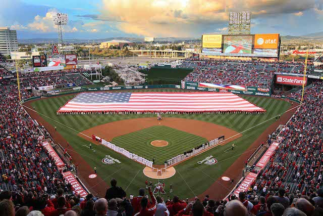 Angels Stadium provides plenty of options for fans of all ages. (USATSI)