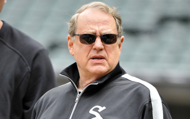 Jerry Reinsdorf is okay after a lightheaded spell on Friday.