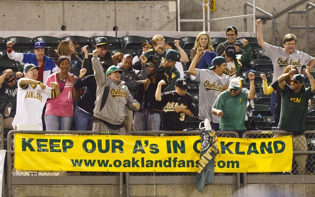 The A's new 10-year lease is in jeopardy.
