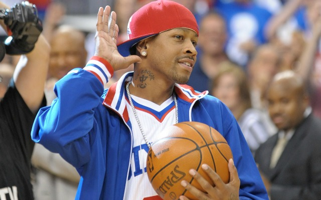 Allen Iverson's version of business casual.