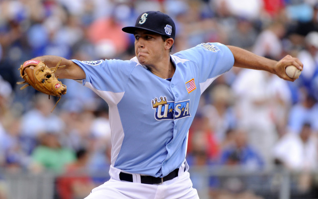Danny Hultzen at the 2012 Futures Game.