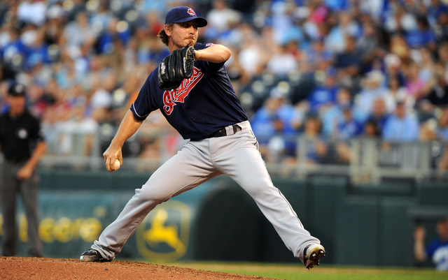 Josh Tomlin lost his arbitration case to the Indians on Friday.