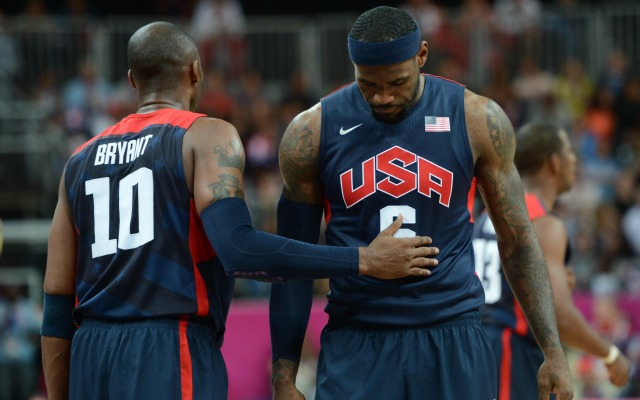31169235e49 LeBron James learned a lot from playing with Kobe Bryant in the Olympics.