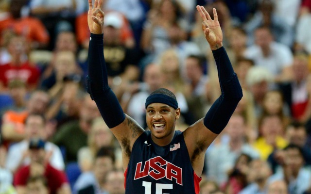 Melo wants to win a third Gold medal.