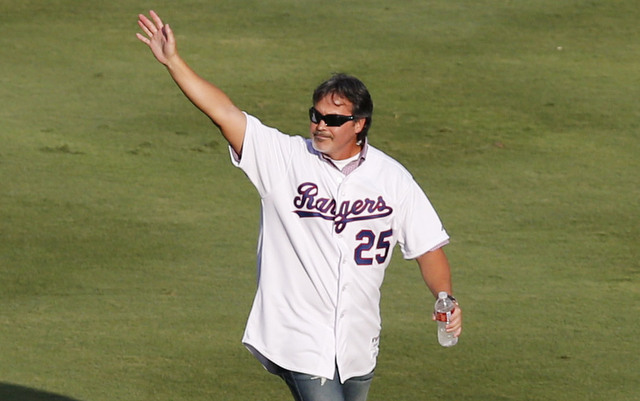 Rafael Palmeiro is one of only four players with 3,000 hits and 500 homers.