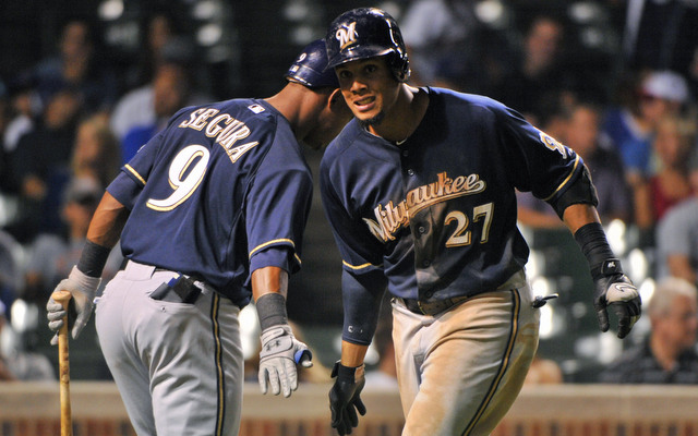 Few players ran the bases more effectively than Jean Segura and Carlos Gomez in 2013.