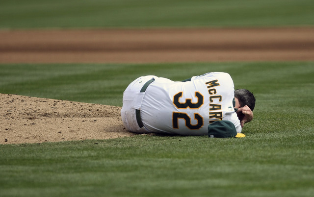 Brandon McCarthy nearly lost his life after being hit by a line drive in 2012.